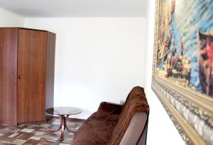 A seating area at Apartment on Lenina