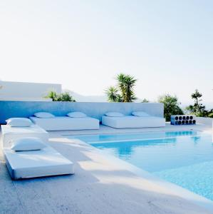 The swimming pool at or near Boutique Hotel Jardines de Palerm