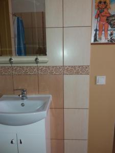 A bathroom at Brīvdienu māja Saulīte