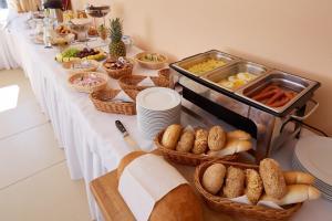 Možnosti raňajok pre hostí v ubytovaní Wellness hotel Javorník