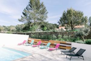 The swimming pool at or close to Villa Marie - Provence Côte d'Azur