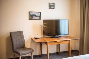 A television and/or entertainment center at Province