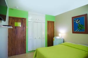 Cama o camas de una habitación en North Star Hostal Guayaquil