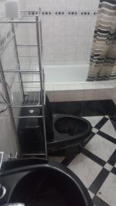 A bathroom at Hostal y Restaurante Business Rosh