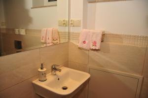 Łazienka w obiekcie Luna Apart Gdańsk