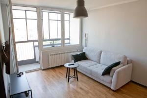 Posezení v ubytování The Heart of Warsaw Apartment - Old Town