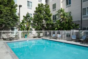 The swimming pool at or near Homewood Suites by Hilton Fresno Airport/Clovis