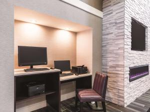 A television and/or entertainment center at La Quinta by Wyndham San Antonio Downtown