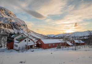 Voss Mountain Lodge during the winter