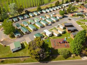 A bird's-eye view of Discovery Parks – Hadspen
