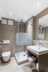 A bathroom at Hotel St. Georg