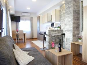Posezení v ubytování Apartment Petra i Nikola