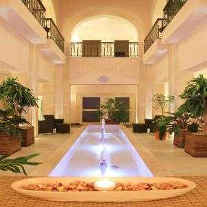 The swimming pool at or near Mehari luxurious apartment