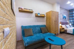 Гостиная зона в Graf Orlov. Comfort Apartments