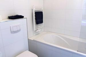 Een badkamer bij B&B Bij De Jongens