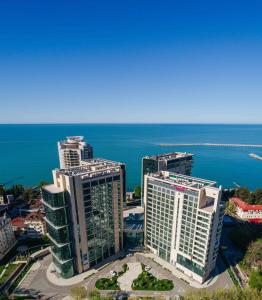 A bird's-eye view of Mercure Sochi Centre Hotel