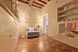 Zona de estar de Wine Apartments Florence Trebbiano