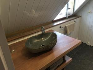 Salle de bains dans l'établissement Côté Baie