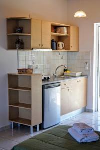 Küche/Küchenzeile in der Unterkunft Villa Levante