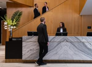 The lobby or reception area at The Charter Seattle, Curio Collection By Hilton