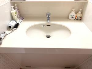 A bathroom at Toya Kanko Hotel
