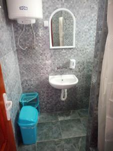 Kupatilo u objektu Rooms Vlasta