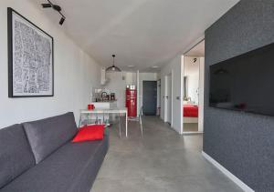 Posezení v ubytování Aroma Apartments Rondo ONZ