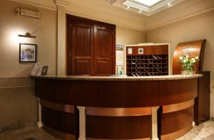 The lobby or reception area at Sodispar Luxury Old Town Apartments