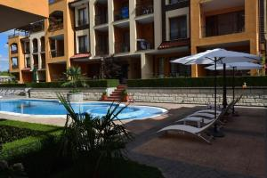 The swimming pool at or near Apartment in Marina Ville Complex