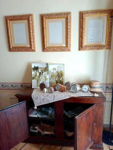 A kitchen or kitchenette at Palazzo Dragoni