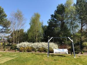 Ogród w obiekcie Willa Biały Dom