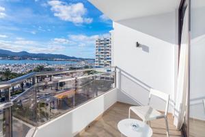 A balcony or terrace at Hotel Sa Clau by Mambo