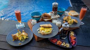 Breakfast options available to guests at Stay Shark Villas Gili Air