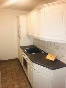 Küche/Küchenzeile in der Unterkunft Hotel Spanischer Hof