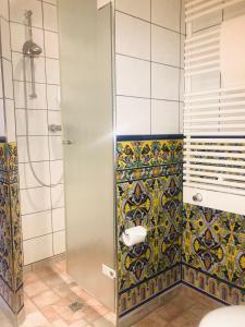 Ein Badezimmer in der Unterkunft Hotel Spanischer Hof