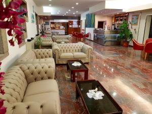 Lounge nebo bar v ubytování Hotel Meridianus