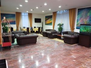 Vstupní hala nebo recepce v ubytování Hotel Meridianus