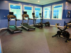 The fitness center and/or fitness facilities at Four Points by Sheraton Edmonton International Airport