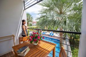 Балкон или терраса в Sungthong Kamala Beach Resort