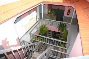 Un balcón o terraza de Apartamentos San Sebastián
