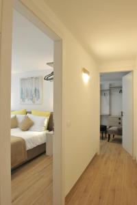 A bed or beds in a room at Bella Vacanza Limone