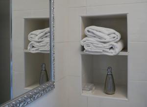 Ein Badezimmer in der Unterkunft Hotel Genova Liberty
