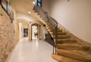 The lobby or reception area at Villa Naspla
