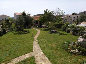 A garden outside Villa Pauk