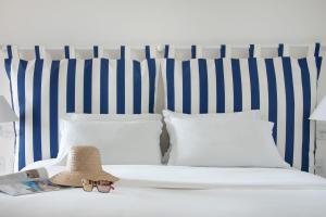 Cama ou camas em um quarto em Le Relais La Borie