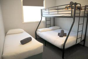 A bunk bed or bunk beds in a room at BIG4 Ulverstone Holiday Park