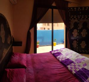 A bed or beds in a room at Beautiful apartment in Gueliz, Marrakech