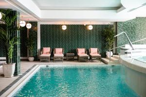 The swimming pool at or near Mezzatorre Hotel & Thermal Spa
