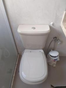 A bathroom at Recanto da Vovó com Bike