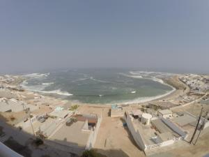 A bird's-eye view of Waves Surf Camp Señoritas